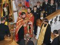 Представители ВМС Украины впервые пришли в штаб ЧФ на молебен в честь адмирала Ушакова (ФОТО)