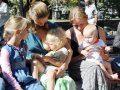 В Севастополе проходит  неделя слингоношения и грудного вскармливания