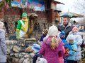 В «Лукоморье» открыли памятник змее и провели конкурс красоты среди ползучих
