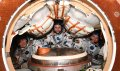 Перед возвращением на Землю космонавт из Севастополя снял Крымский мост