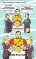 Лаки Ли: проект PeaceMan направлен на защиту мира во всем мире
